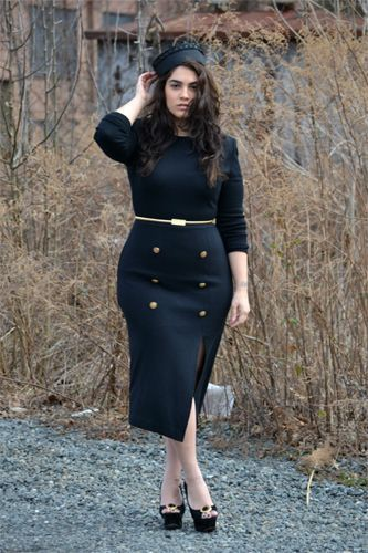 Classy outfits for curvy women