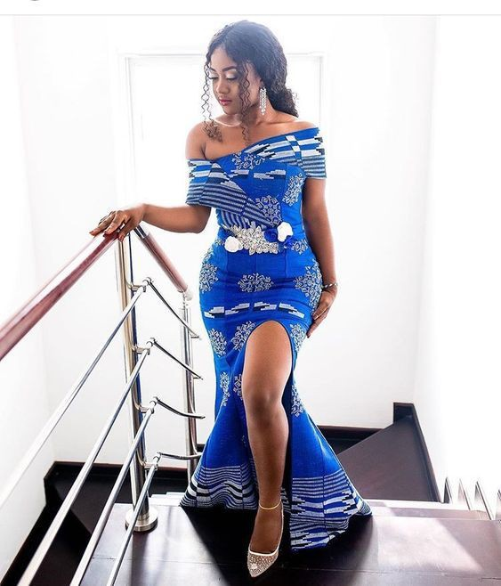 Styles for ankara gowns for wedding