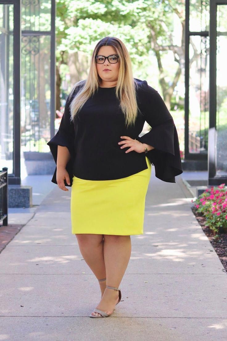 Plus Size Workwear Outfits, Crop top, Plus-size clothing