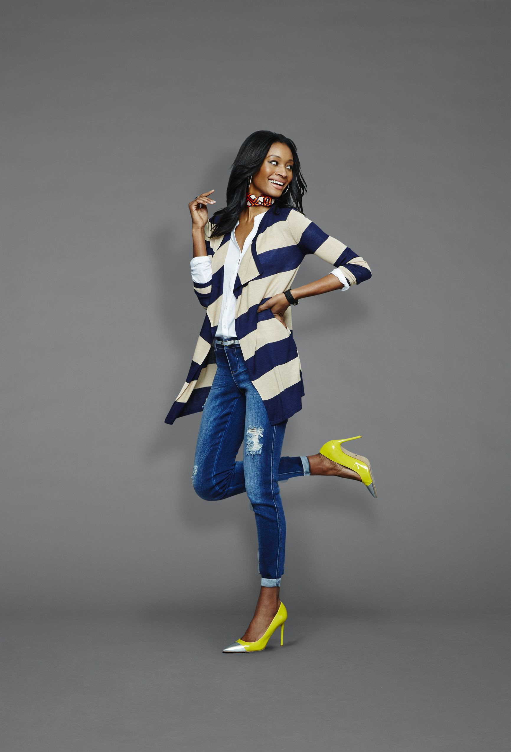 Check out these stylish fashion model, Casual wear