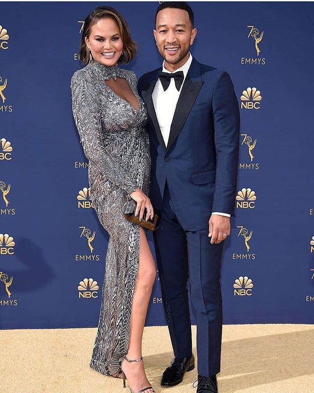 Birthday outfit ideas chrissy teigen emmys 2018, Primetime Emmy Award