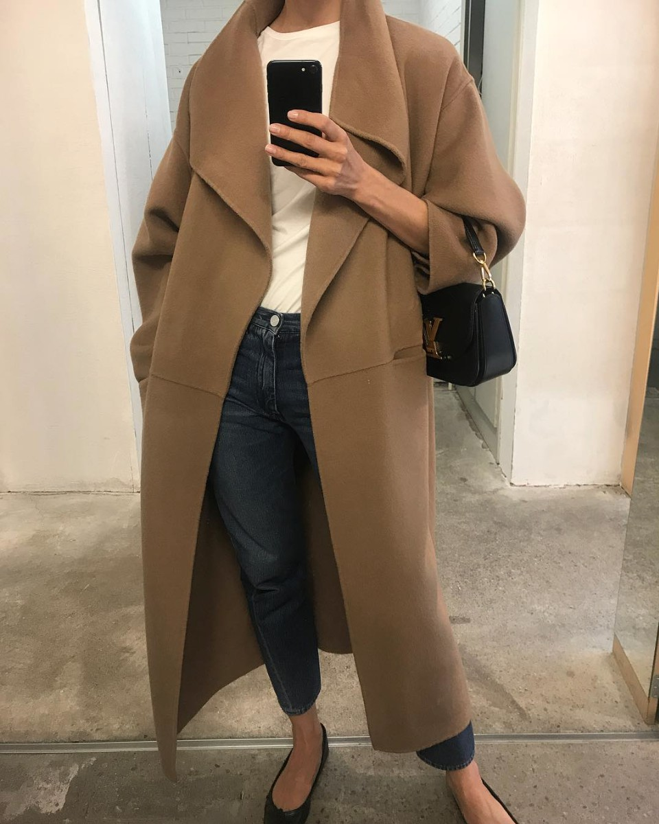 Summer dresses choice toteme annecy coat, Cashmere wool