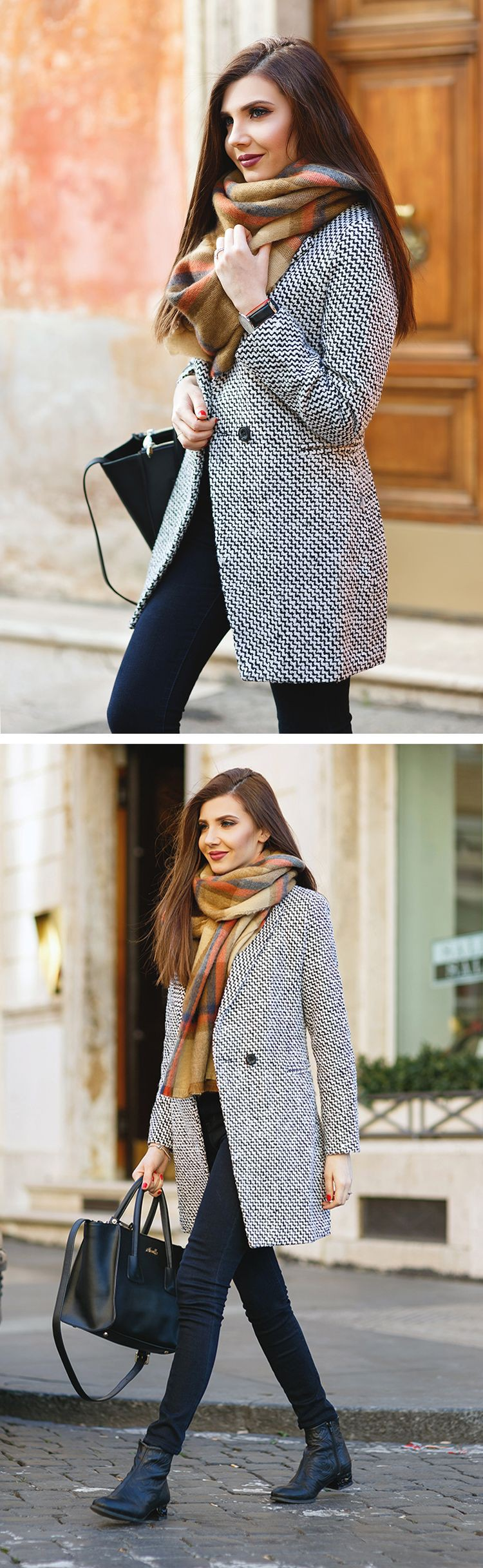 Casual wear, Slim-fit pants Outfits For Winter,