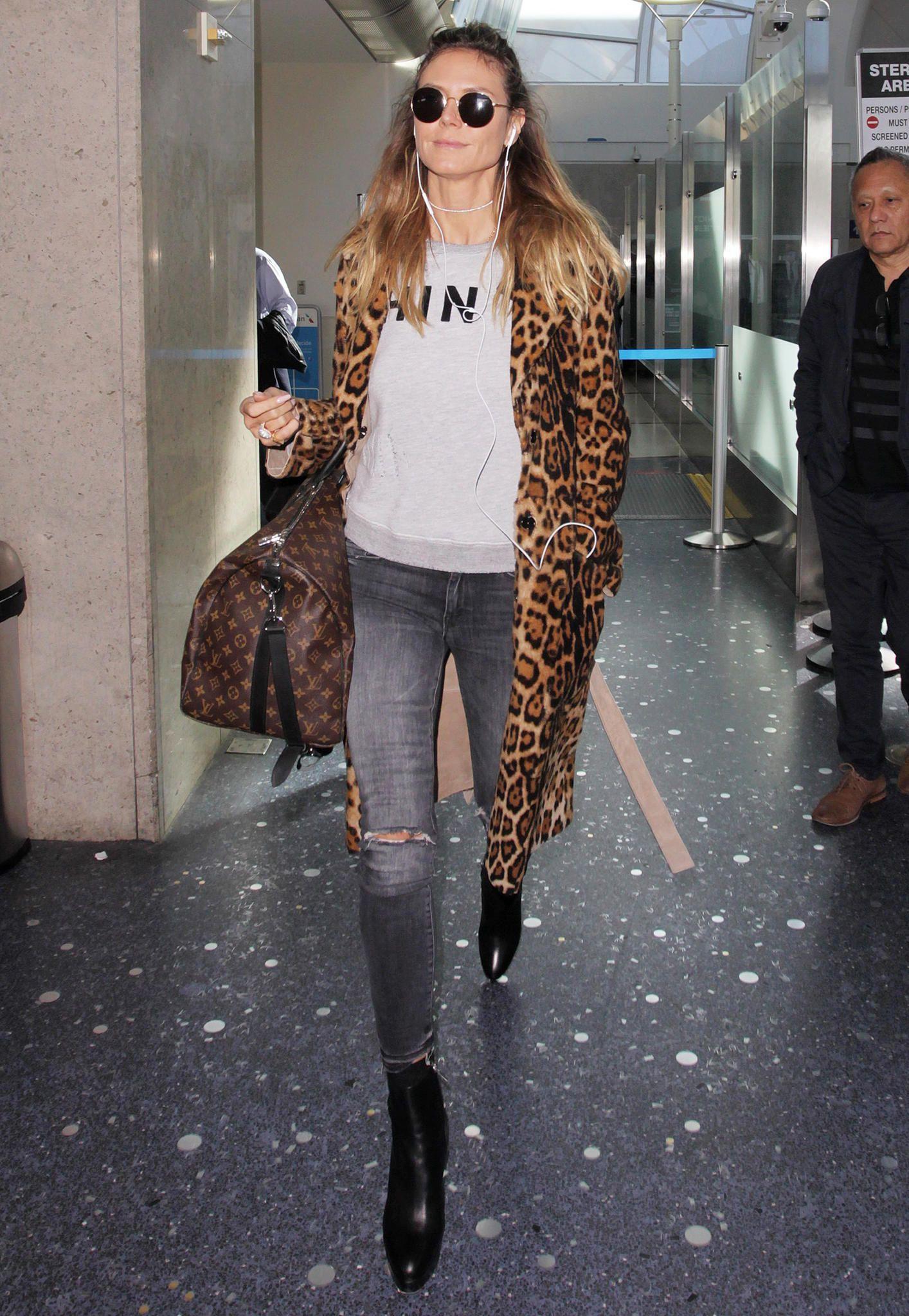 You can get this look heidi klum style, Heidi Klum