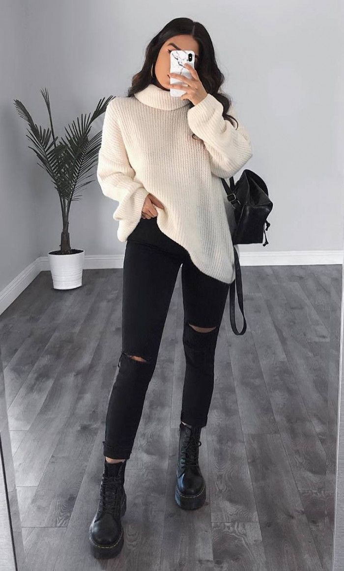 Outfits ropa tumblr invierno, Casual wear