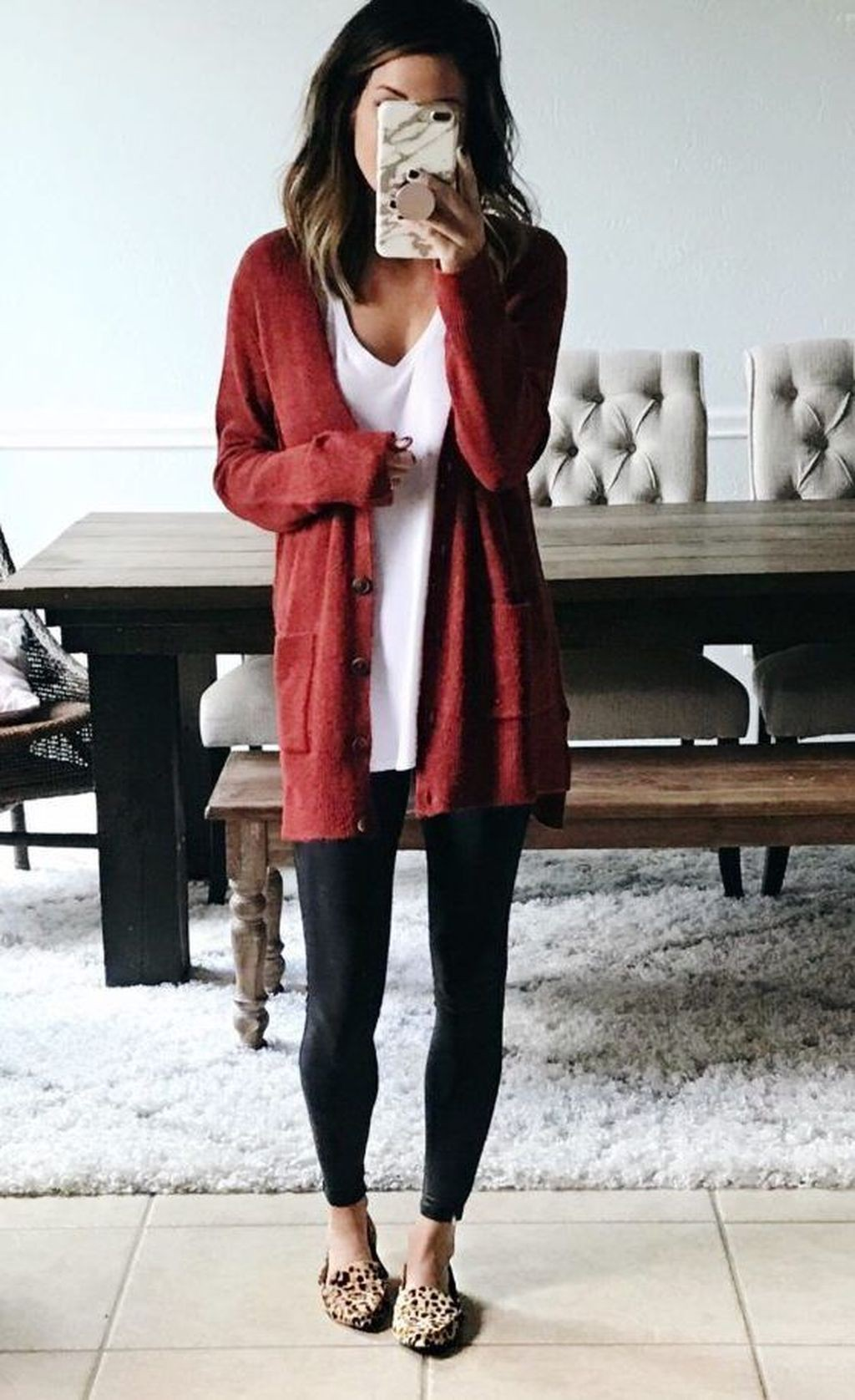 Cute outfits with leggings and sweaters