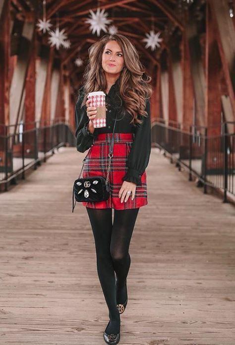 Cute tough girls outfit, Caitlin Covington