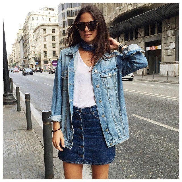 Cute Summer Outfits With Jean Jackets