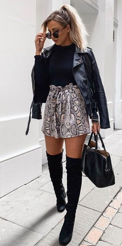Holiday Outfit Ideas For Women, High Waist Shorts, Jean Shorts