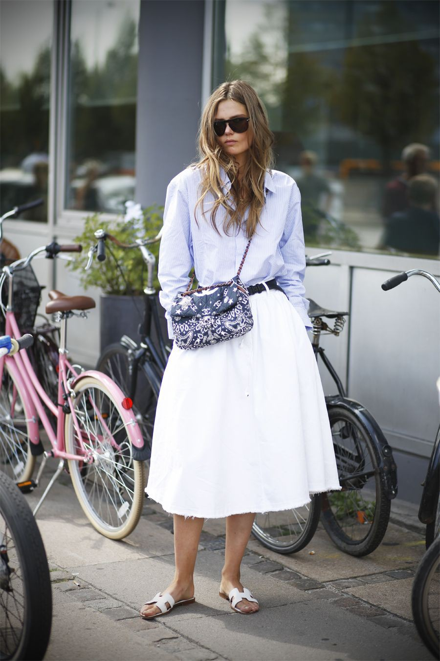 Outfits With White Skirt, Caroline Brasch Nielsen, Copenhagen Fashion Week
