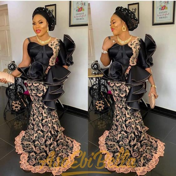 Wow! Check these amazing owambe styles 2019, African wax prints