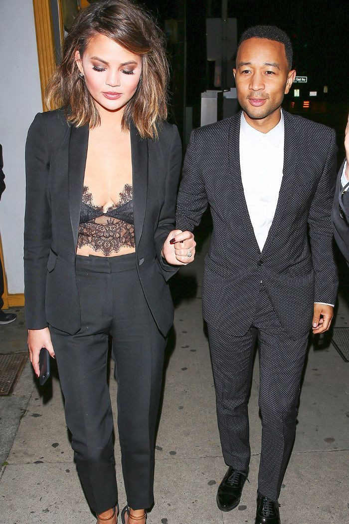 Celebrity couples in matching outfits