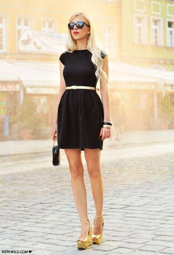 Accesorios para vestido negro, Fashion accessory