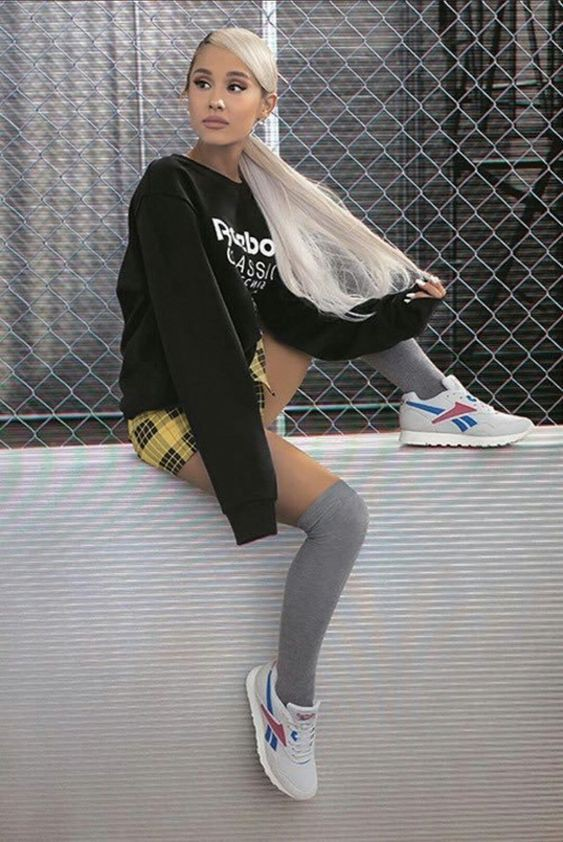 Trending and popular ariana grande reebok, thank u, next