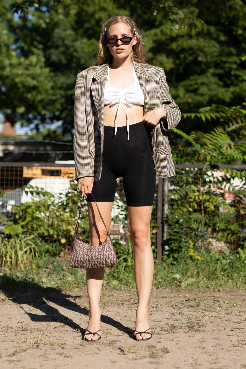 Blazer and biker shorts, Cycling shorts