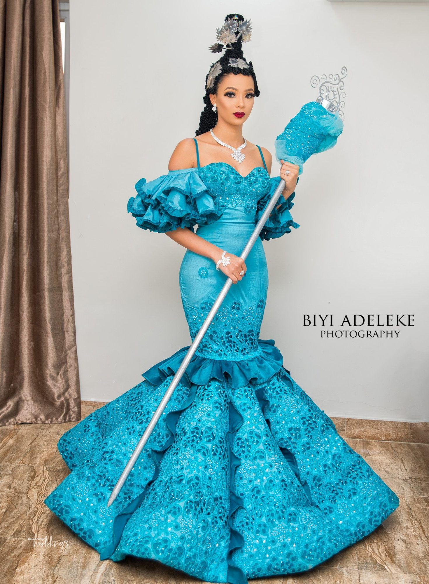 Check these vibrant traditional bridal efik, Personal wedding website
