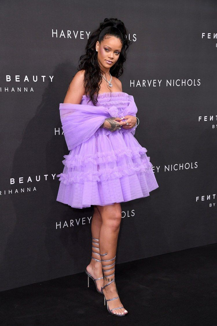Check these nice! rihanna purple dress, Pon de Replay