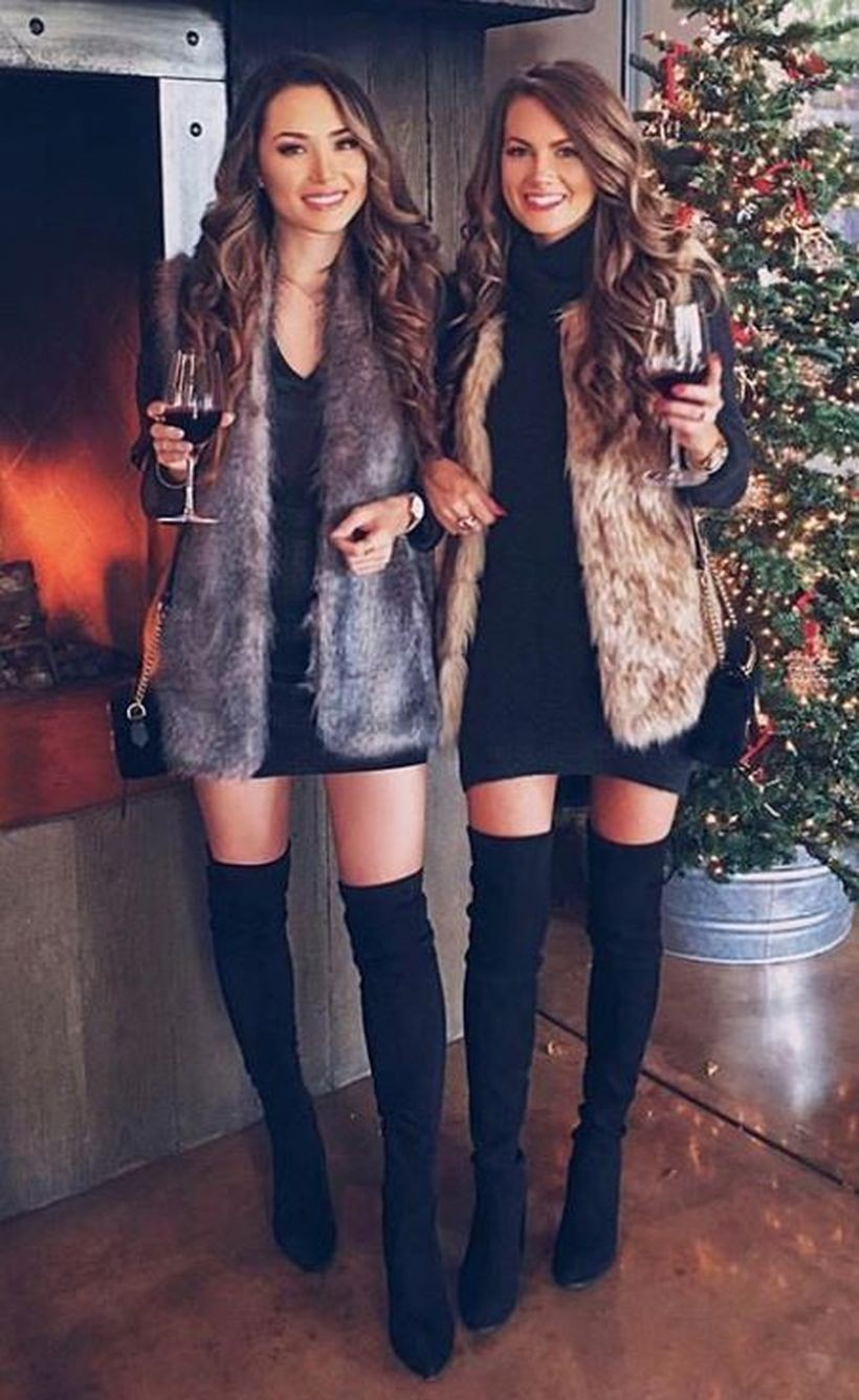 Find out these nice & adorable winter party outfits, Winter clothing