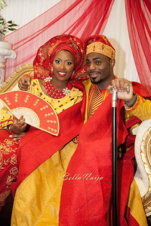 Nigerian yoruba traditional wedding, Yoruba people