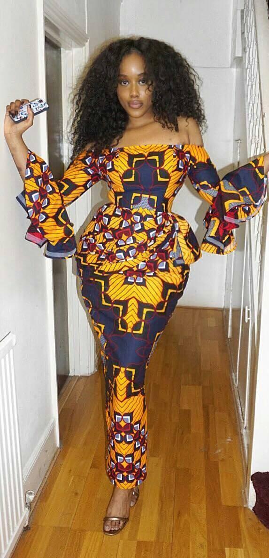 Ankara latest african fashion dresses
