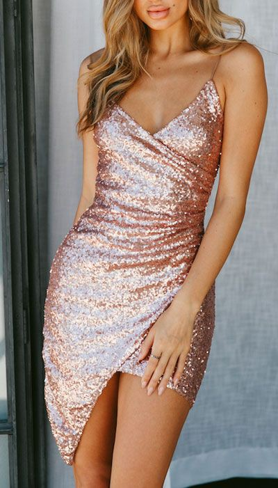 Rose gold nye dresses, Bridesmaid dress