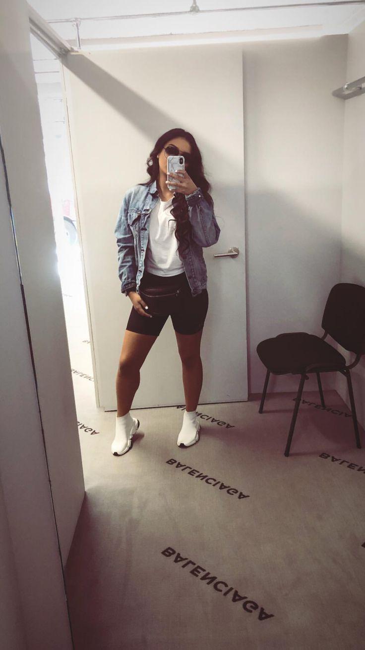 Casual Biker Shorts Trend For Women