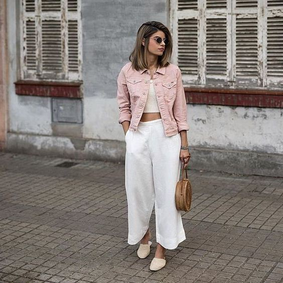 Culottes Outfit Ideas, Something Cool