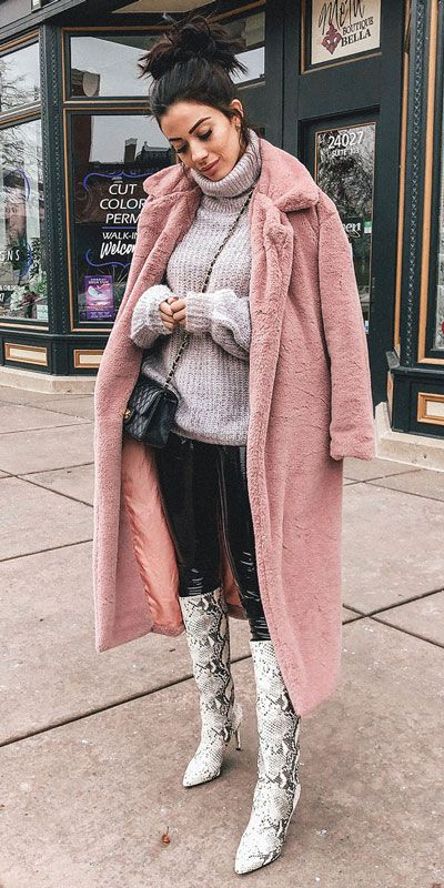 You must see these great fur clothing, Pink Jacket.