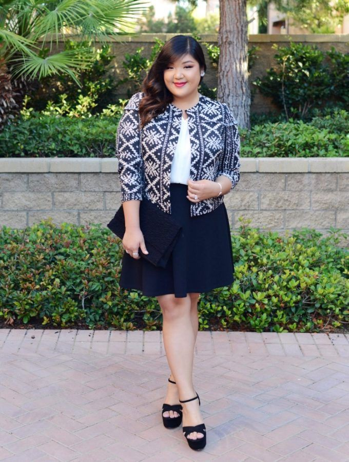 Up to date fashion model, Plus-size model