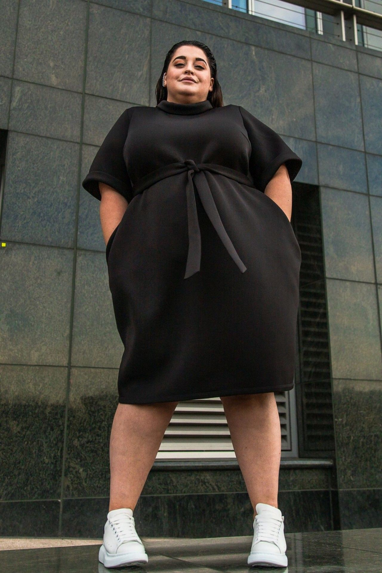 Find these fashion model, Little black dress