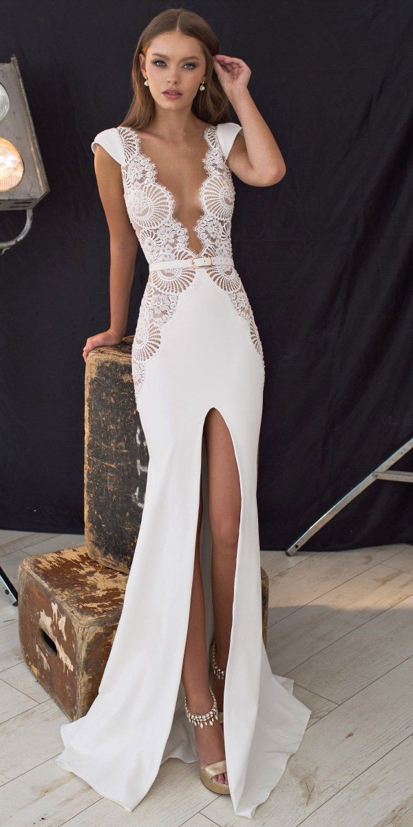 Well! There are nice sexy wedding dress