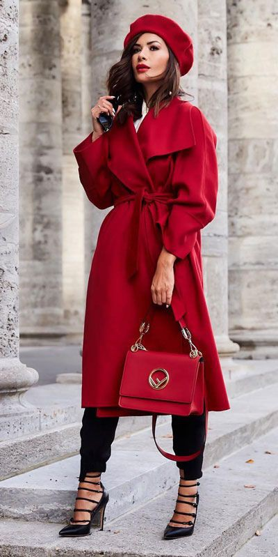 Holiday Outfit Ideas For Women, Trench coat, Dress shirt