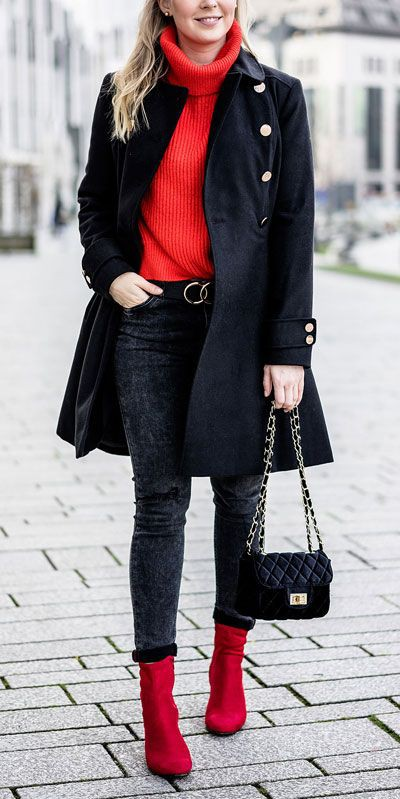 Really great ideas for rote schuhe kombinieren, Stiletto heel