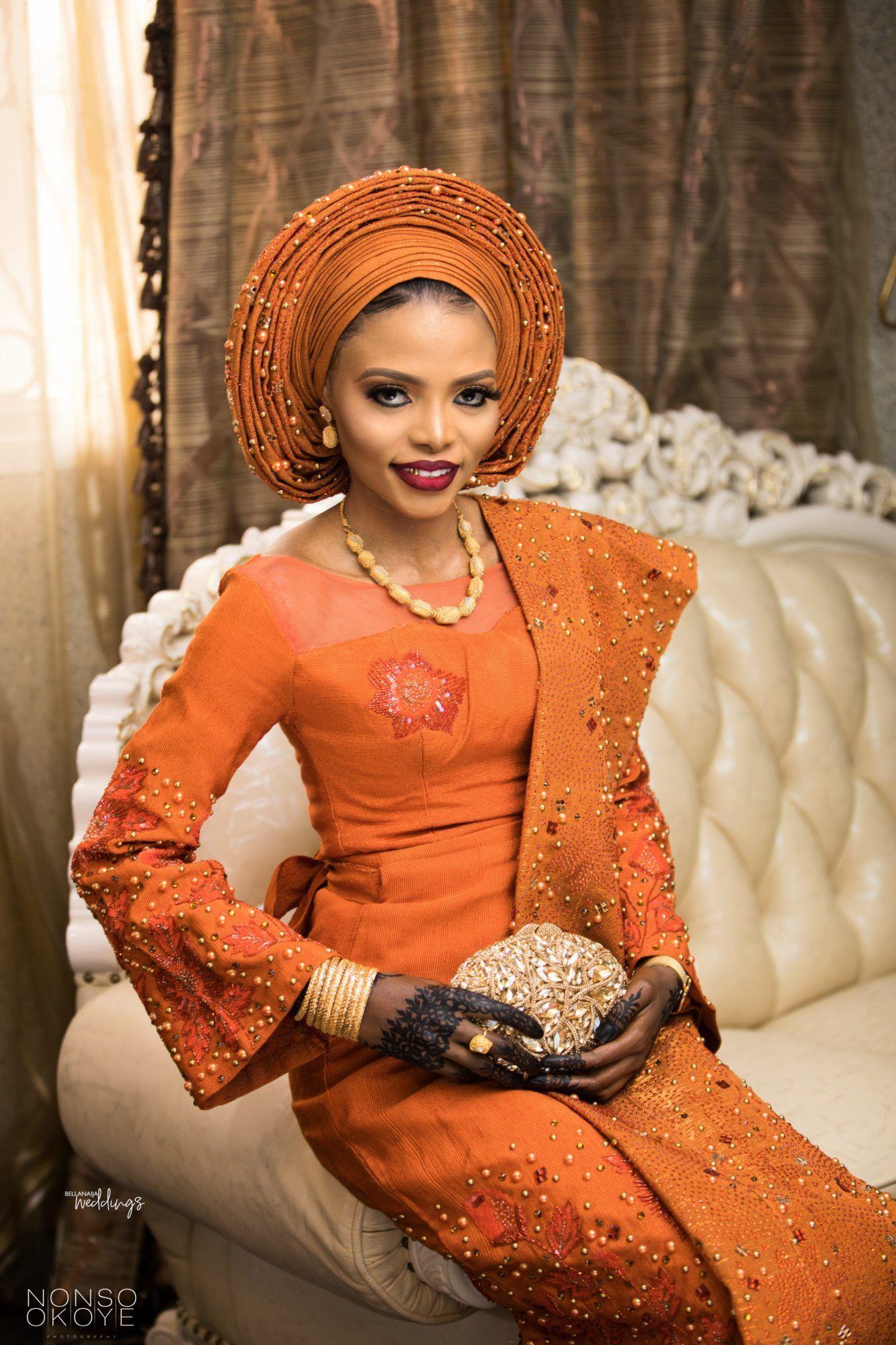 Nigerian Dresses For Nigerian Brides, It Was Beautiful, Aso ebi