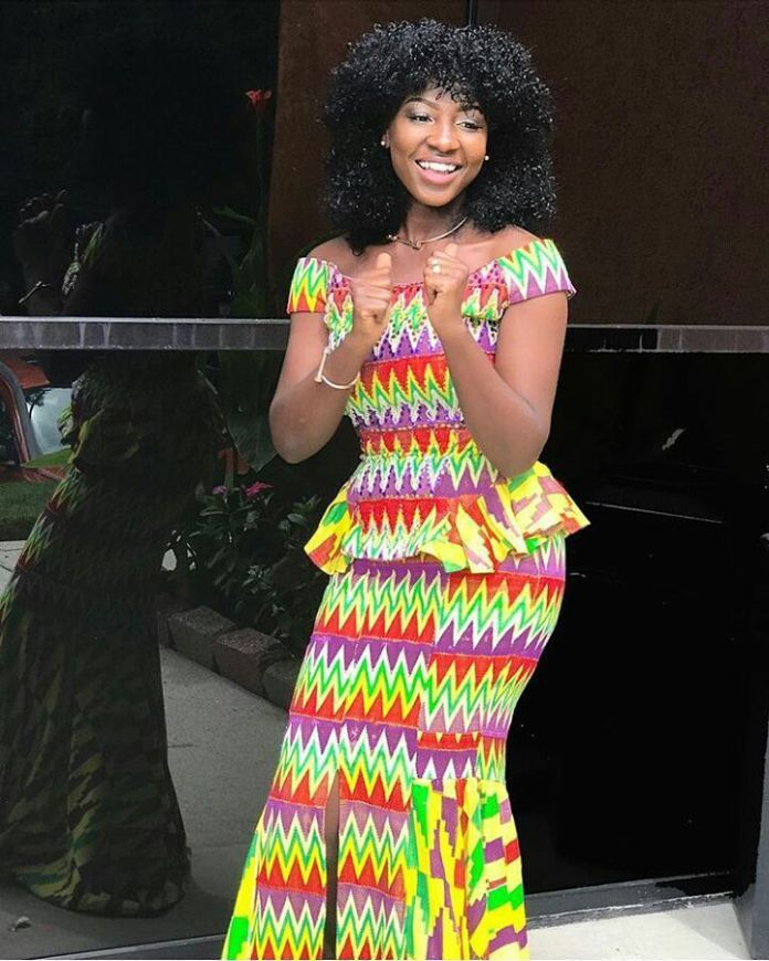 Discover these trendy kente slit, African wax prints
