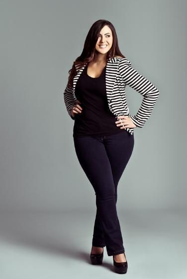 Curvy plus size women, Plus-size clothing