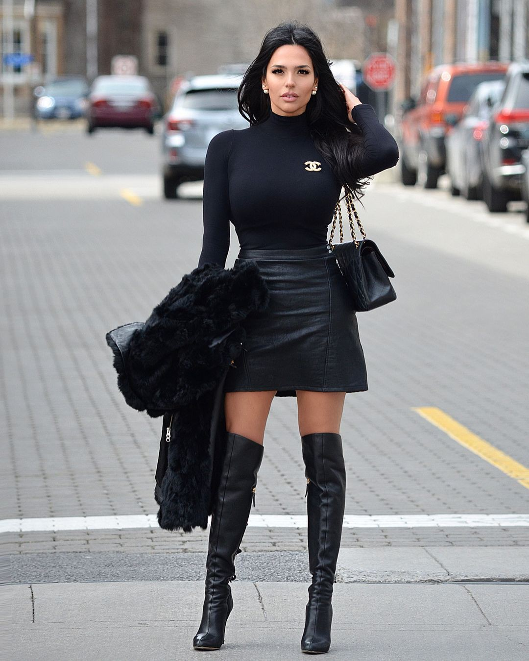 Good feel dress stiefel girls, Thigh-high boots