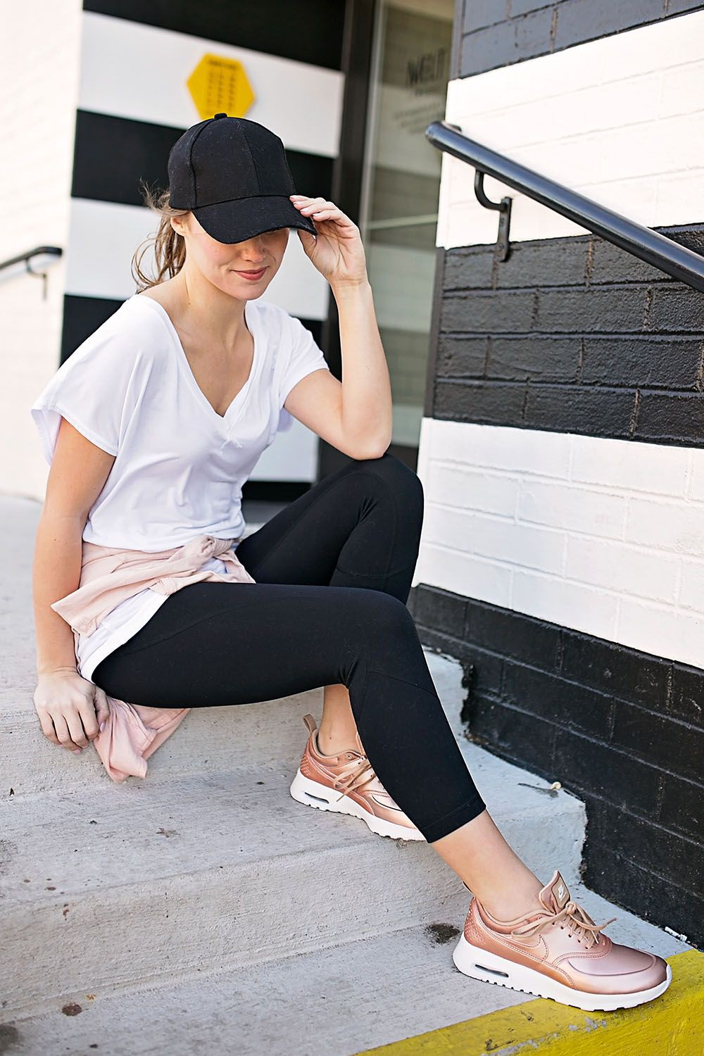 Air max thea rose gold outfit