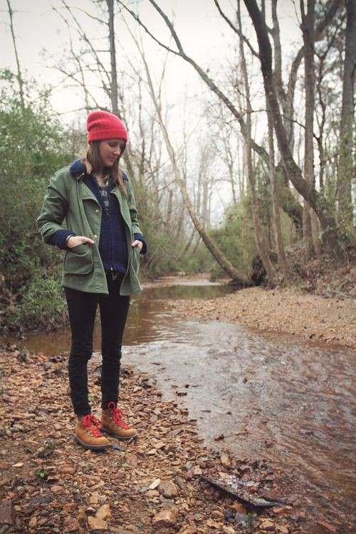 Party-wear ideas for hiking style, Hiking boot