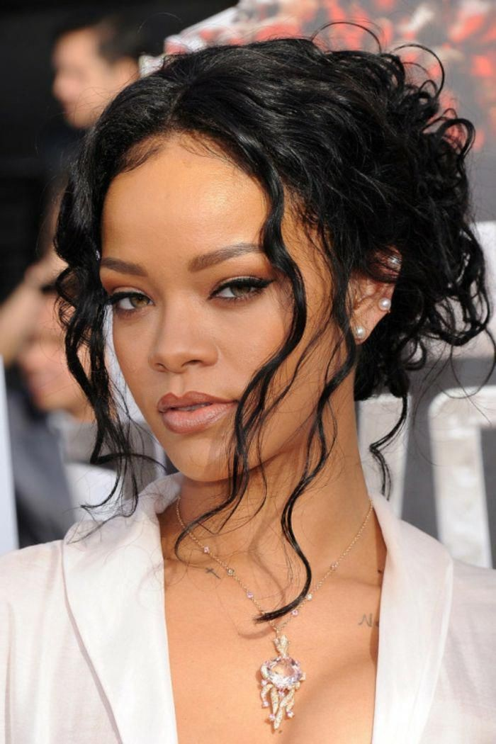 Appealing tips for rihanna haare, Black hair