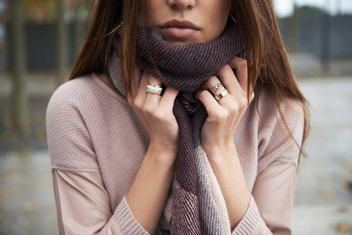 Worth checking these negin mirsalehi rings, Ring – White