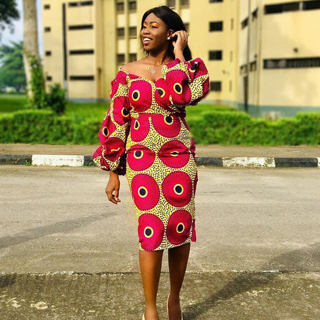 US most desired fashion model, African wax prints