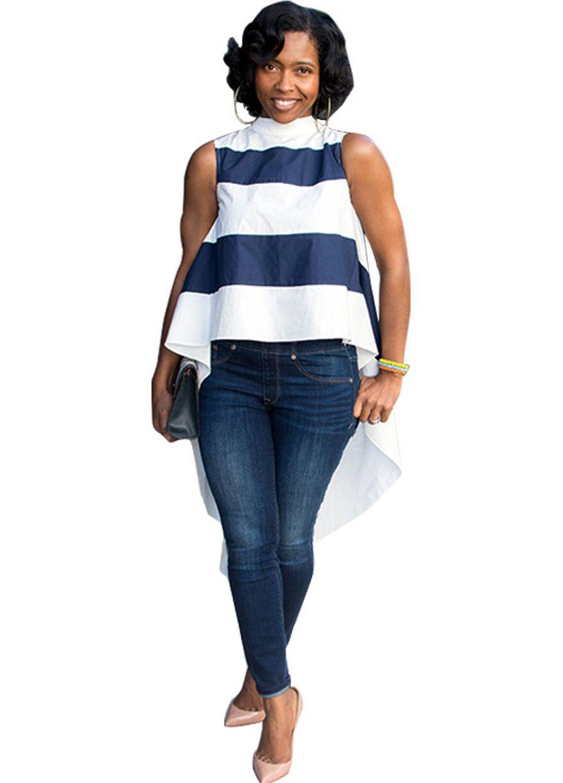 Fit Jeans crop Top Combination