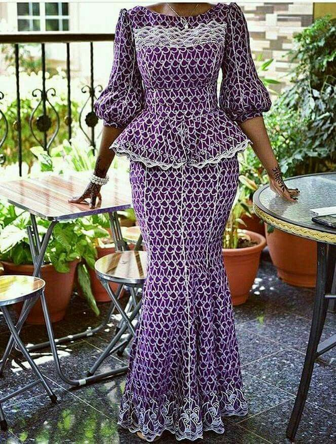 Nice! modele nigerian dentelle