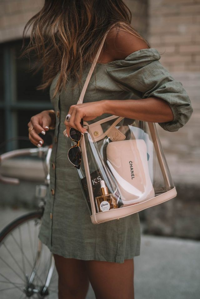 Wonderful images of clear bag trend, Clear Handbags & More