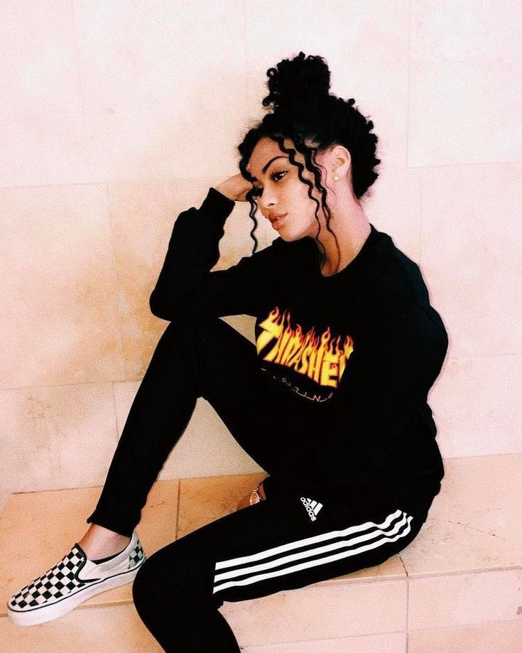 Just beautiful baddie thrasher outfits, Casual wear