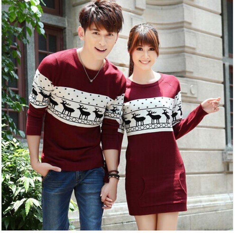 Matching christmas outfits for couples