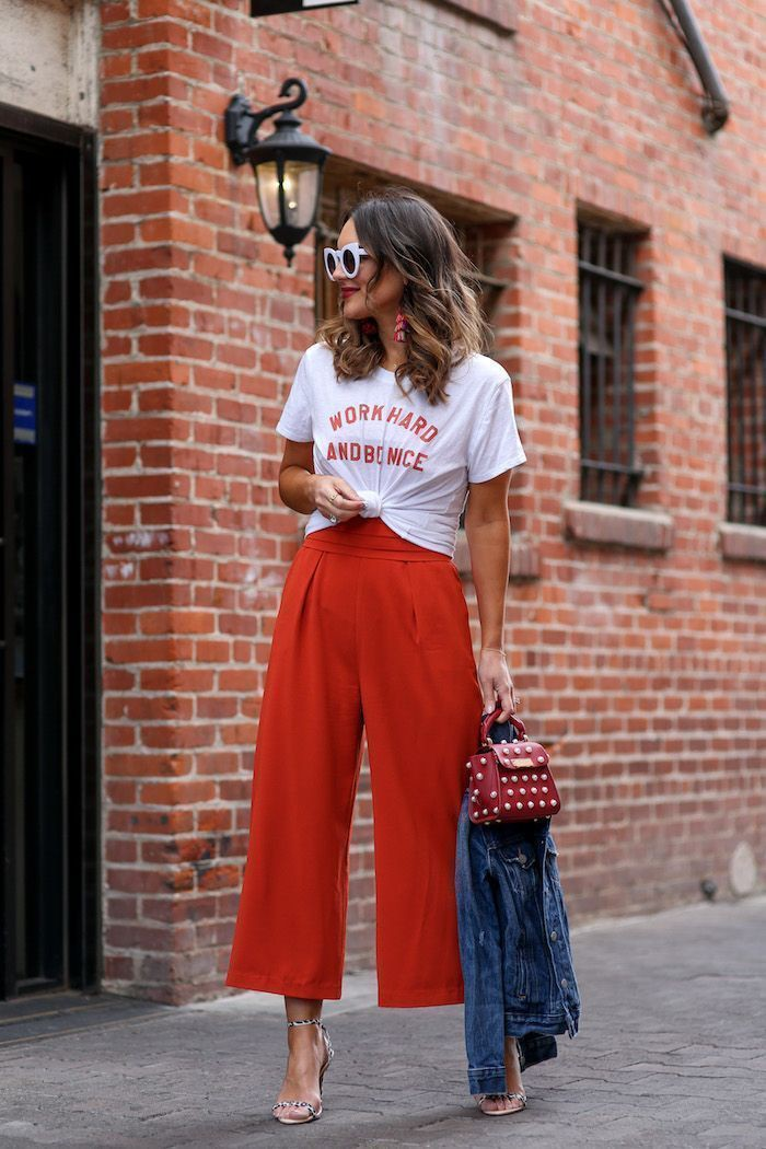Dressing down womens dress pants