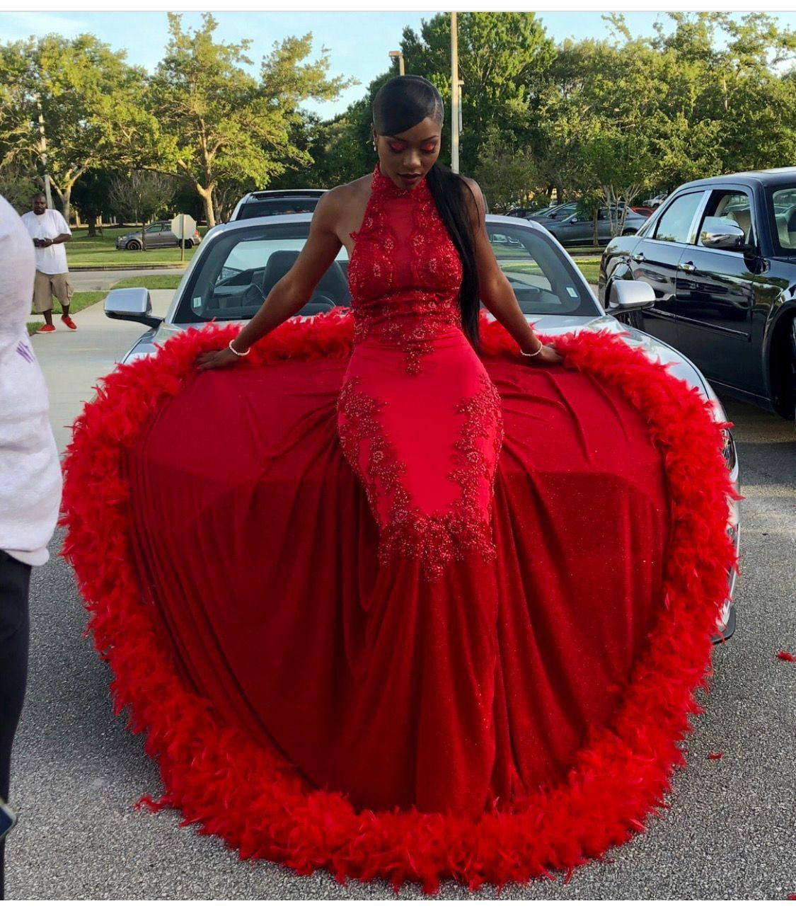 Trending Outfit Ideas for Women, slayed proms, Formal wear