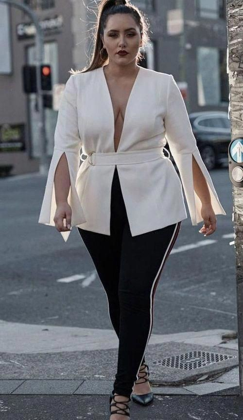 Latest and trending plus size 2019 trends, Plus-size clothing